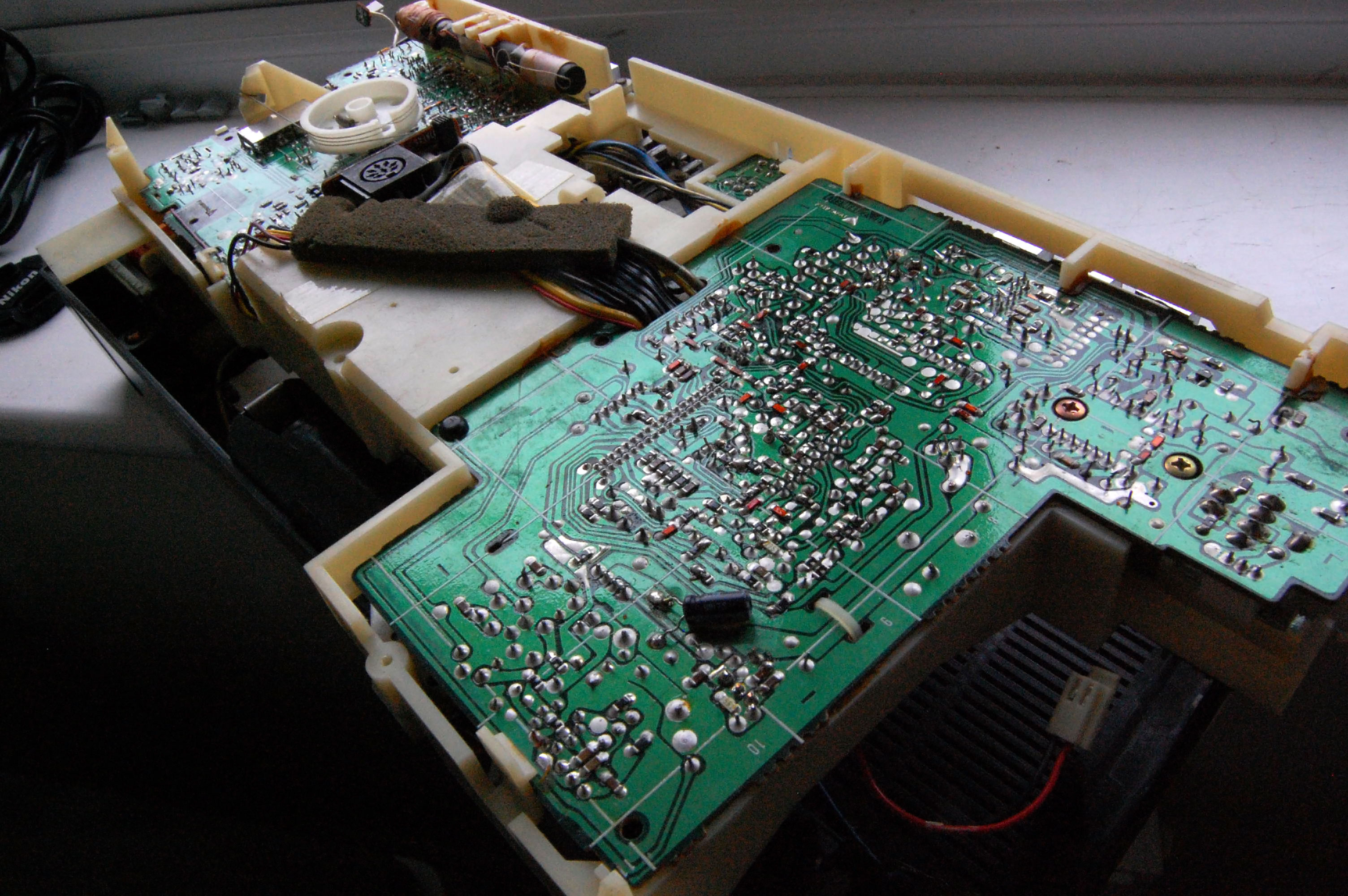 Hacking a line-in socket into an 80s radio and cassette player