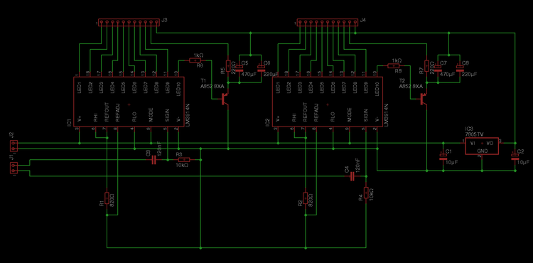 Turntable also Led Vu Meter Schematic also Power Transistor Schematic together with Turntable Vu Meters additionally Power Transistor Schematic. on adding stereo vu meters to a turntable